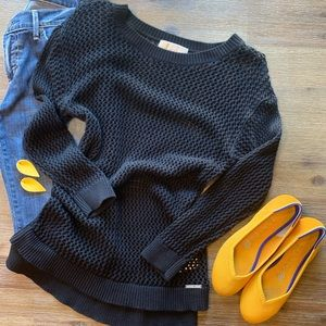 Michael Kors Black Knit Sweater
